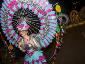 «El gran atascón» y otras 14 comparsas, en el desfile de Carnaval del Polígono toledano