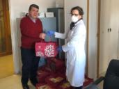 Santo Tomé lleva dulces para el personal sanitario de los hospitales de Toledo