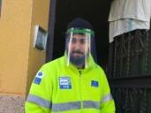 Fabrican pantallas protectoras y mascarillas para distribuirlas por Talavera y su comarca