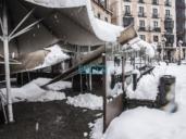 El 70 por 100 de la nieve desaparecerá el miércoles pero seguirá más de un mes donde no se limpie
